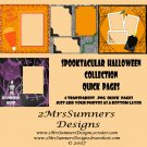 Spooktacular Halloween Collection Quick Page Pack