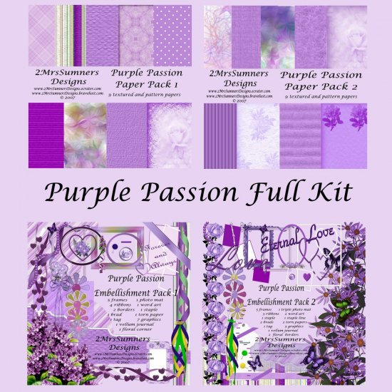 Purple Passion (Full Kit)