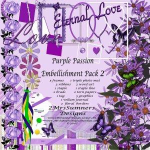 Purple Passion Element Pack 2