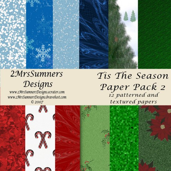 Tis the Season Paper Pack 2