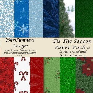 Tis the Season Paper Pack 2