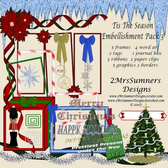 Tis the Season Element Pack 3