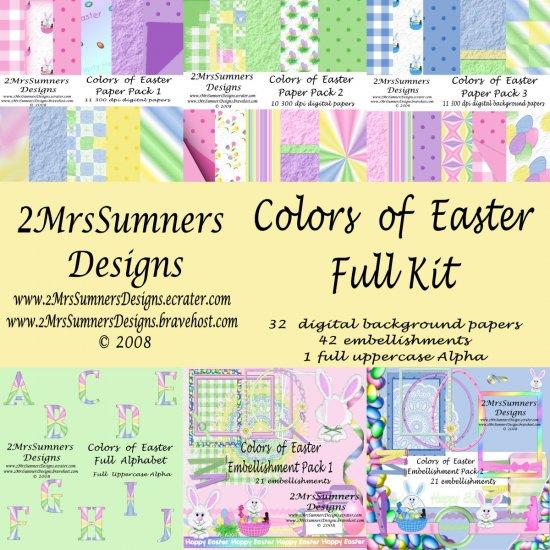Colors of Easter (Full Kit)