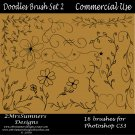 Doodles Brush Set 2