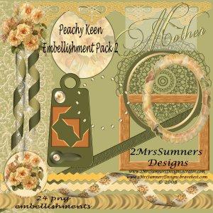 Peachy Keen Element Pack 2