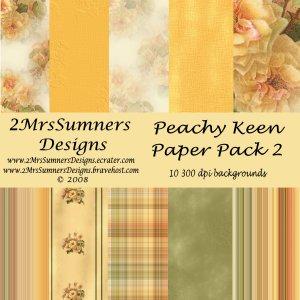 Peachy Keen Paper Pack 2