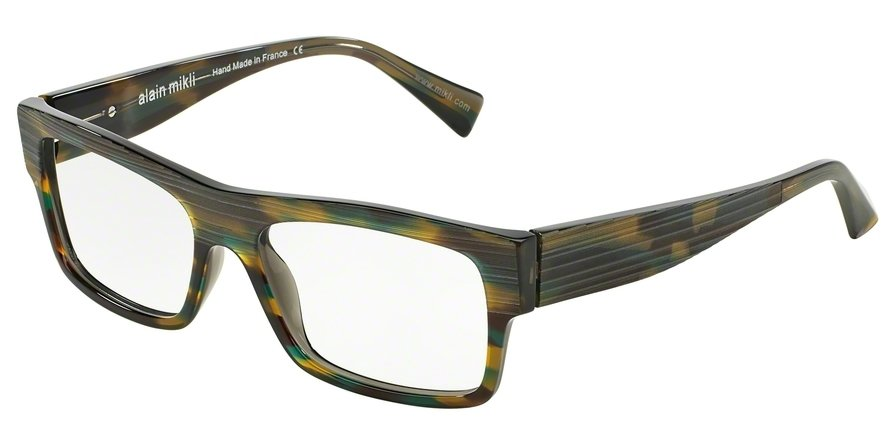Alain Mikli 0A01344 HAVANA GREEN GREY Optical