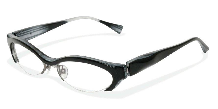 Alain Mikli 0A01286 BLACK/WHITE/BLACK/WHITE Optical