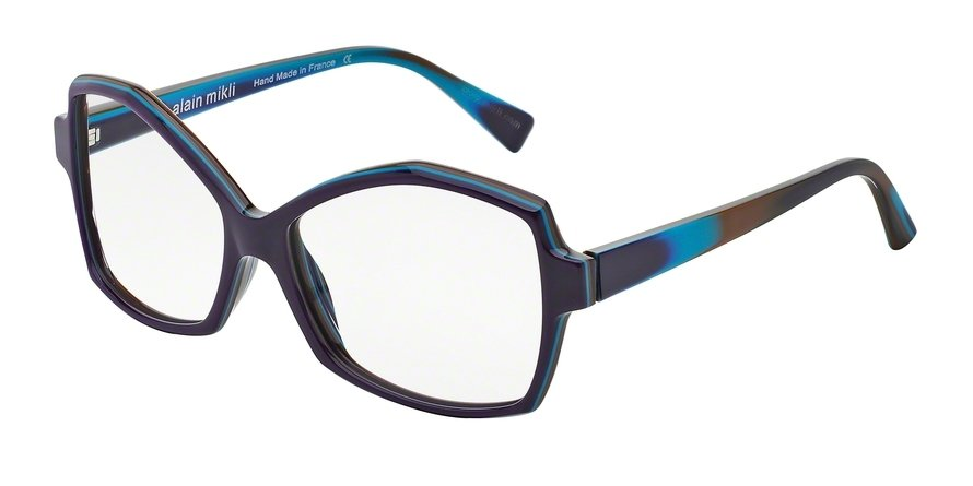 Alain Mikli 0A01259 MULTILAYER VIOLET/AZURE/BROWN Optical