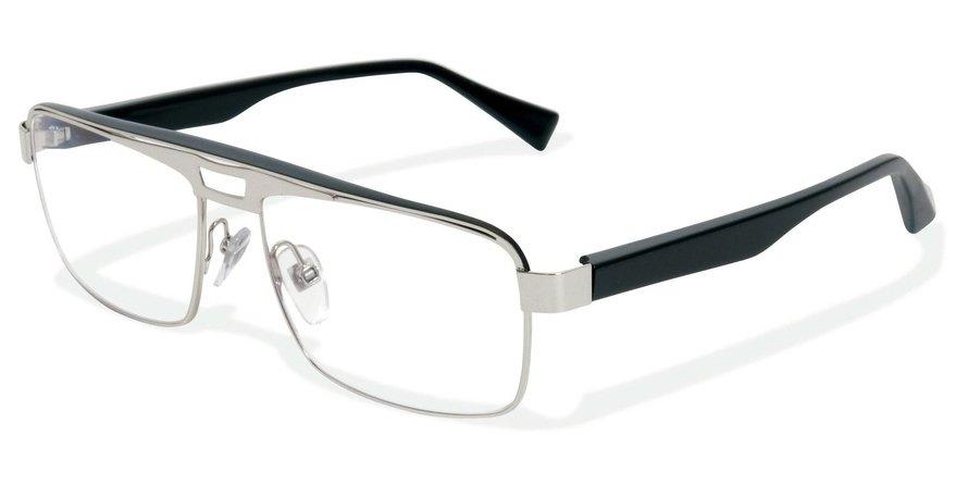 Alain Mikli 0A01223 SHINY PALLADIUM-PEARLY BLACK Optical