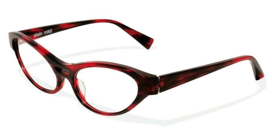 Alain Mikli 0A01215 DARK RED TORTOISE Optical