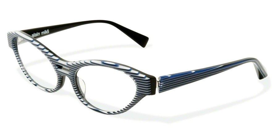 Alain Mikli 0A01215 BLACK BLUE STRIPED Optical