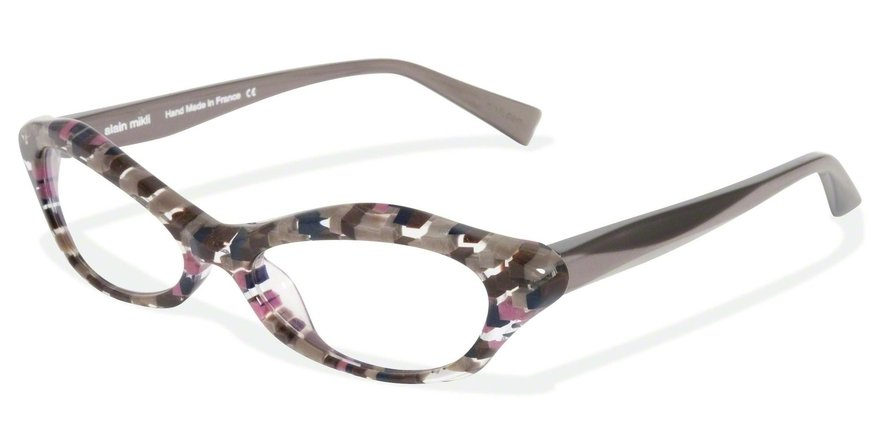Alain Mikli 0A01213 CHECK PINK NAVY/ANTRACYTE Optical