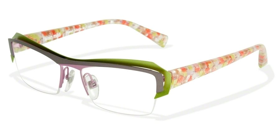 Alain Mikli 0A01202 GREY ANIS PINK/PINK YEL BLUE Optical