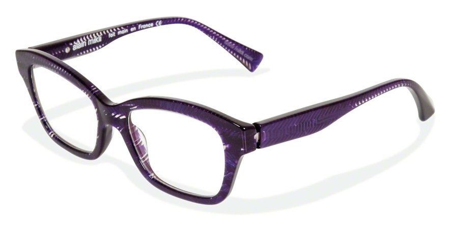 Alain Mikli 0A01123 PURPLE CHEVRON Optical