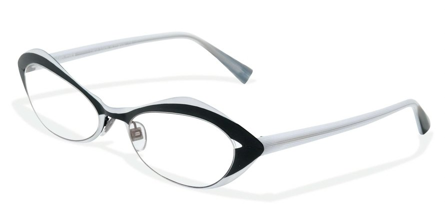 Alain Mikli 0A01114 BLACK-WHITE Optical