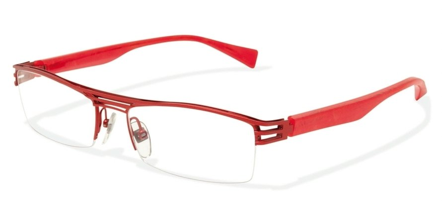 Alain Mikli 0A01105 RED-MAT RED/PEARLY RED Optical