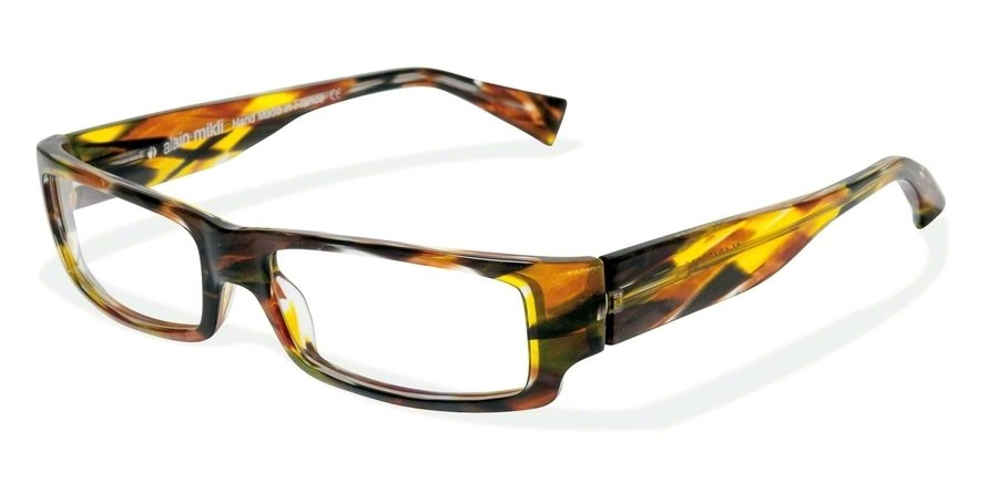 Alain Mikli 0A01048 GREEN YELLOW TORTOISE Optical