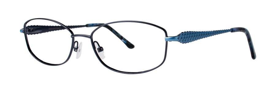 Dana Buchman ABBATHA Navy Eyeglasses Size53-16-138.00