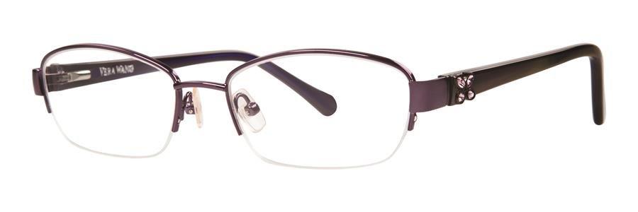 Vera Wang ACACIA Amethyst Eyeglasses Size51-17-130.00