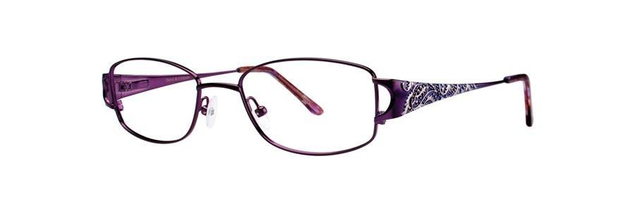 Dana Buchman ADELPHIA Amethyst Eyeglasses Size52-18-135.00