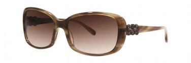 Vera Wang AIDIN Olive Tortoise Sunglasses Size57-16-135.00
