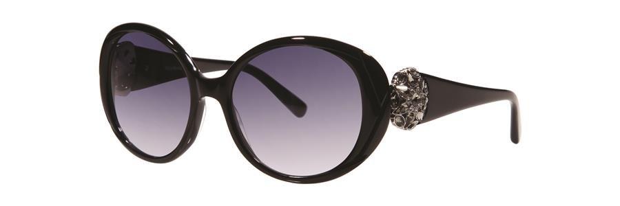 Vera Wang ALDORA Black Sunglasses Size54-17-138.00
