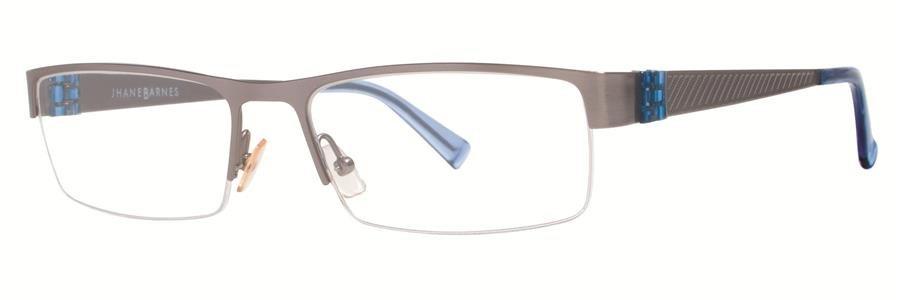 Jhane Barnes ALGORITHM Gunmetal Eyeglasses Size55-17-140.00