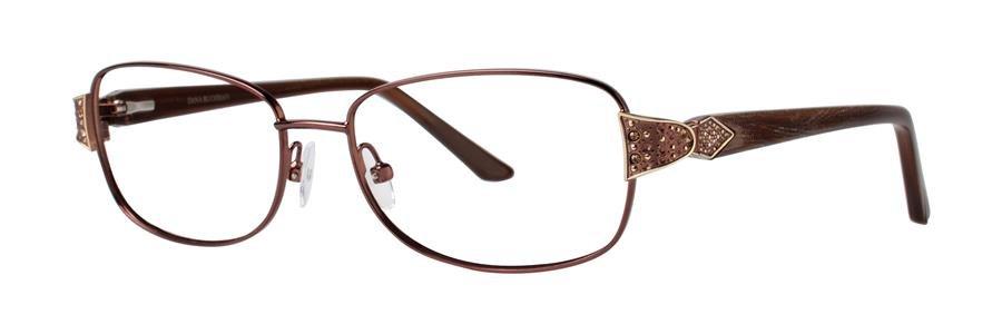 Dana Buchman ALISTAIN Brown Eyeglasses Size52-15-135.00