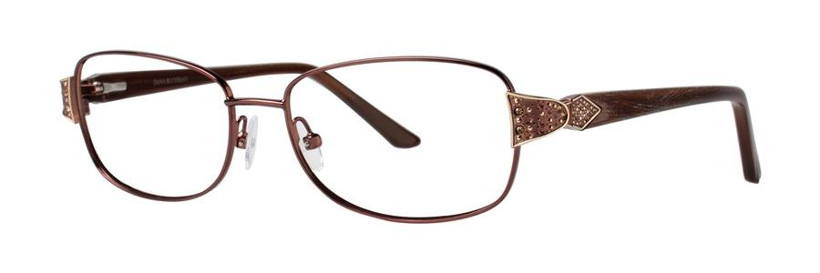 Dana Buchman ALISTAIN Brown Eyeglasses Size54-15-140.00