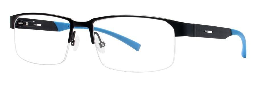 Jhane Barnes ALTERNATE Black Eyeglasses Size55-17-140.00