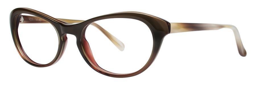 Vera Wang AMARA Olive Eyeglasses Size52-17-135.00