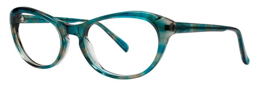 Vera Wang AMARA Teal Marble Eyeglasses Size52-17-135.00