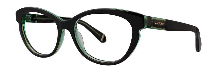 Zac Posen AMIRA Emerald Eyeglasses Size52-18-140.00