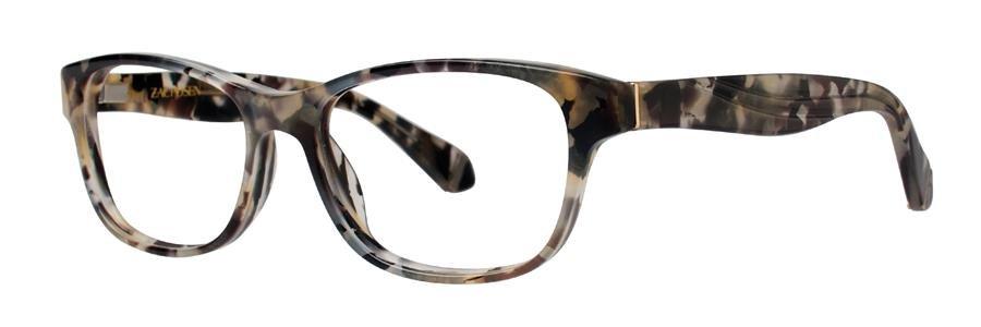 Zac Posen ANNABELLA Gray Tortoise Eyeglasses Size50-16-130.00