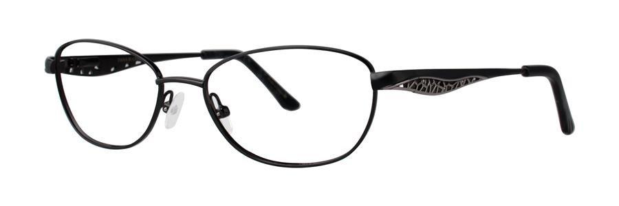 Dana Buchman ANNABELLE Black Eyeglasses Size53--135.00