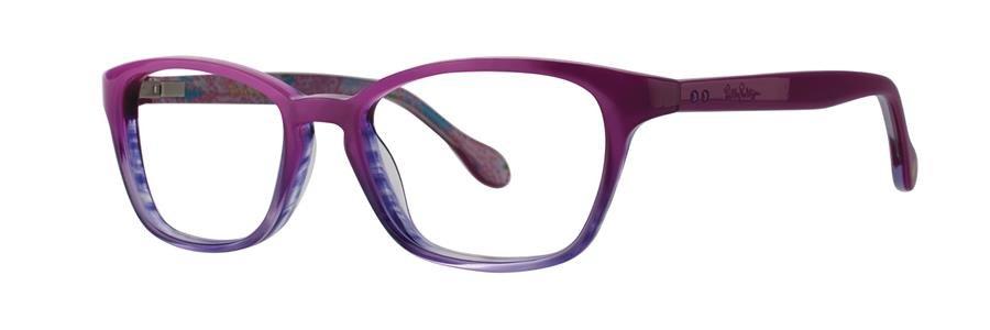 Lilly Pulitzer ARABELLE Magenta Fade Eyeglasses Size47-15-125.00