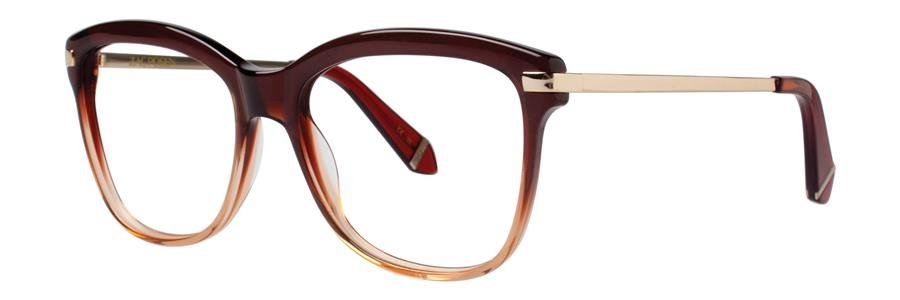 Zac Posen ARLETTY Red Eyeglasses Size54-17-135.00