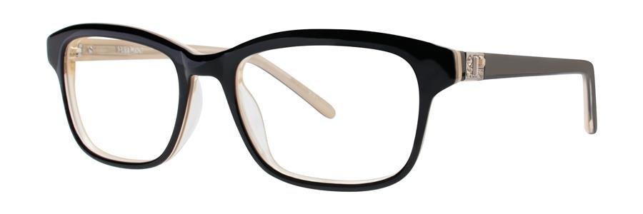 Vera Wang AXELLE Black/Gold Eyeglasses Size53-18-140.00