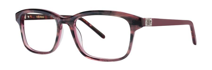 Vera Wang AXELLE Raspberry Eyeglasses Size51-18-135.00
