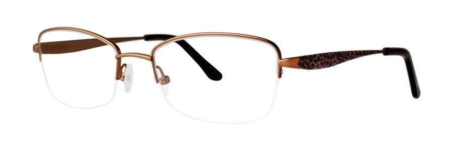 Dana Buchman BEATRIZ Brown Eyeglasses Size52-18-133.00