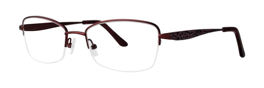 Dana Buchman BEATRIZ Crimson Eyeglasses Size52-18-133.00