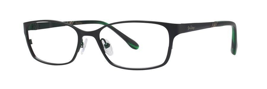 Lilly Pulitzer BECKETT Black Eyeglasses Size51-15-135.00