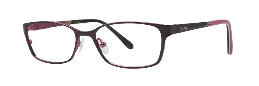 Lilly Pulitzer BECKETT Brown Eyeglasses Size49-15-135.00