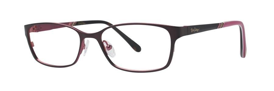 Lilly Pulitzer BECKETT Brown Eyeglasses Size51-15-135.00