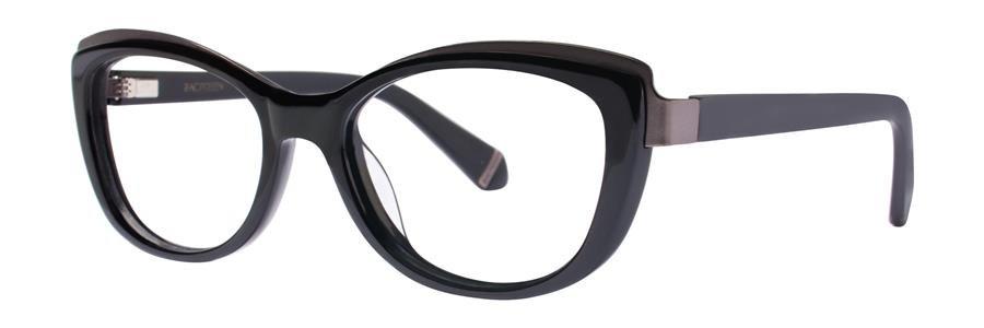 Zac Posen BENEDETTA Black Eyeglasses Size52-17-135.00