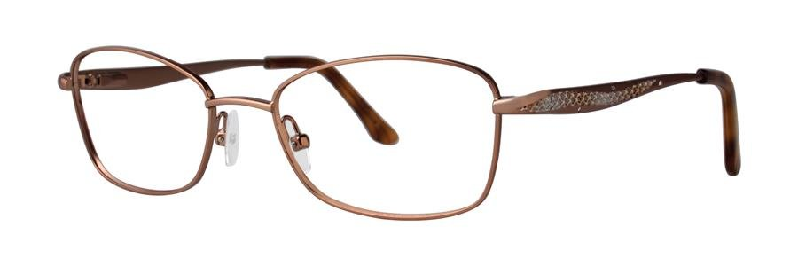 Dana Buchman BEVERLY Brown Eyeglasses Size52-17-135.00