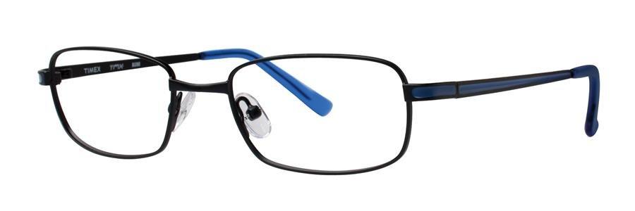 Timex BLEND Black Eyeglasses Size49-17-135.00