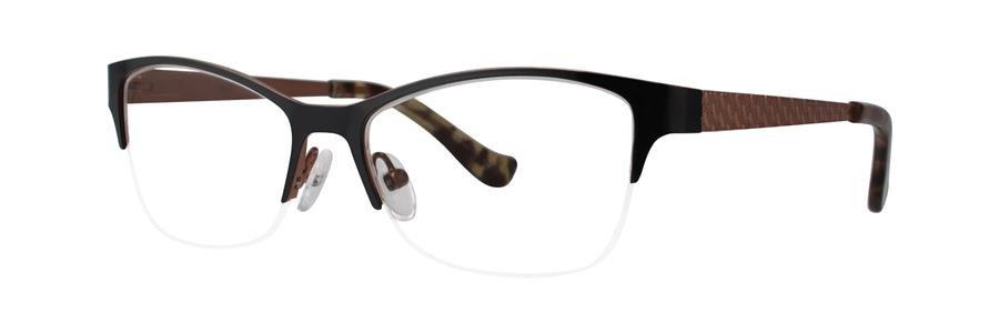 kensie BLISS Black Eyeglasses Size45-14-120.00