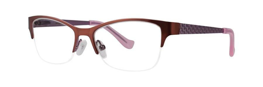 kensie BLISS Brown Eyeglasses Size47-14-125.00